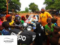Vespa travel Togo - Benin - Nigeria (Africa on motorcycle) Horror Stories, Vespa, Road Trip, Africa, Around The Worlds, Pure Products, Videos, Wasp, Hornet
