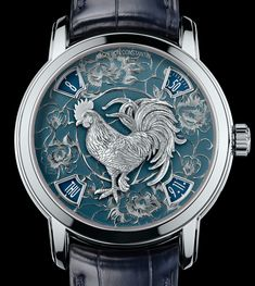"Vacheron Constantin Métiers D'Art Legend Of The Chinese Zodiac Year Of The Rooster Watch- by Kenny Yeo - Just in time for the Chinese New Year. Details at: aBlogtoWatch.com - ""Despite the tough economic climate, Asia, specifically Hong Kong and China, remain two of the biggest markets for Swiss watch brands. And to celebrate the Chinese New Year, which will be in late January, 2017, Vacheron Constantin is introducing two new and extremely limited watches..."""