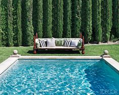 Ellen Pompeo and interior designer Martyn Lawrence-Bullard created room to lounge at the Grey's Anatomy star's Mediterranean-style Hollywood home