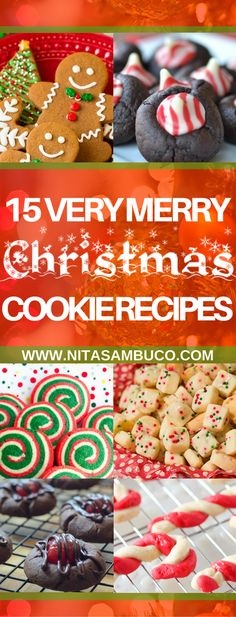 15 Very Merry Christmas Cookie Recipes