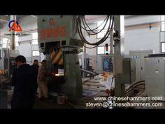 maîtrise de l'énergie Hit CNC hydraulique Forge Marteau - YouTube