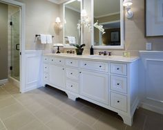 Traditional Bathroom Long And Narrow Bathroom Design, Pictures, Remodel, Decor and Ideas - page 18