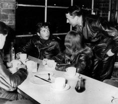 The 59 Club. English rockers who rode motorbikes