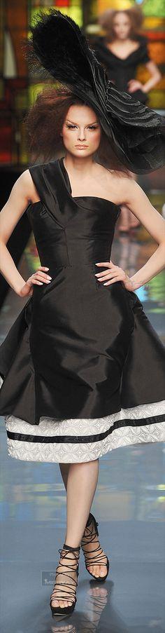 Rosamaria G Frangini | Black Desire | Hats | ️ Christian Dior