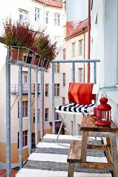 Para se inspirar: varanda parisiense.
