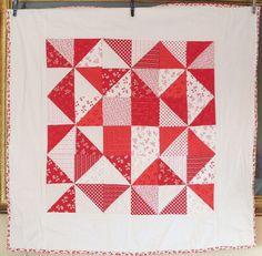 Pavlova  Baby Quilt 35 x 35 by fionascardsandgifts on Etsy, £75.00