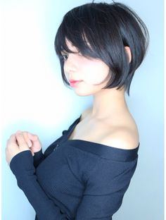 Welcome to Agen Judi - Home Cute Asian Girls, Cute Girls, Short Hair Cuts, Short Hair Styles, Hair Reference, Girl Inspiration, Asia Girl, Face Hair, Female Poses
