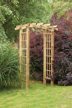 Ryeford Garden Arch   Forest Garden