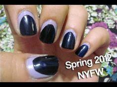 Spring 2012 Nails NEW YORK FASHION WEEK
