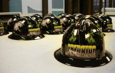 Predator Drilling - Hard Hat Decalling #hardhat #hardhatdesign #branding