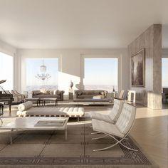 First Interior Renderings of 432 Park Avenue