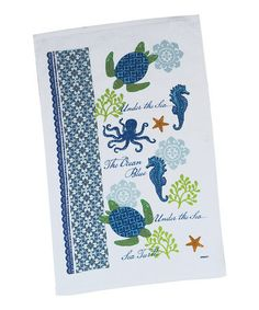 Take a look at this Kay Dee Designs Sea Turtle Dish Towel - Set of Two by Kay Dee Designs on #zulily today!
