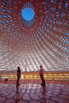 """The British Pavilion at the 2015 World Expo in Milan, which opened in May, captures the imagination. Fitting the expo's theme of """"Feeding the Planet, Energy for Life,"""" the pavilion. Kew Gardens, Expo Milano 2015, Expo 2015, Architecture Details, Landscape Architecture, Architecture Wallpaper, Sacred Architecture, Chinese Architecture, Architecture Office"""
