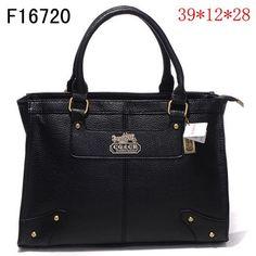 375186de3d68 Coach Leather Handbag Black 2680 Coach Satchel