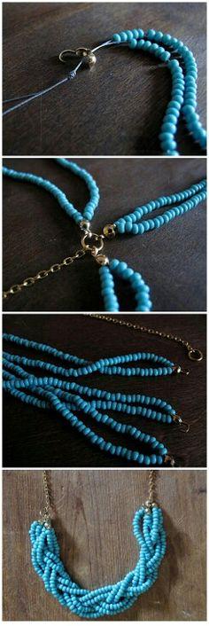 Necklace #diy