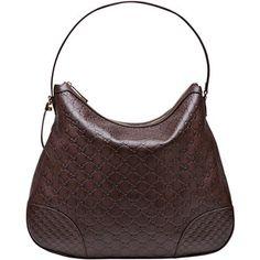 Gucci Bree Guccissima Leather Hobo Bag