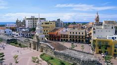 If you want to experience the beauty of the Colombian town, the best place to start with would surely be Cartagena. Cartagena is also referred to as the Southern Caribbean Cruise, Royal Caribbean, Countries To Visit, Largest Countries, Panama Cruise, Trinidad Y Tobago, Colombia South America, Walled City, Palm Beach County