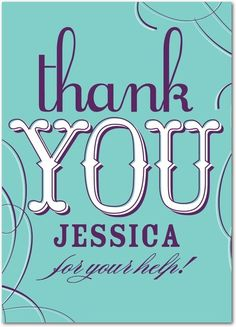 Personalized thank you cards from Treat.com.  #thanks