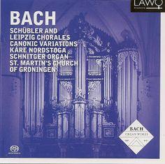 Den Klassiske cd-bloggen: Johann Sebastian Bach og Kåre Nordstoga