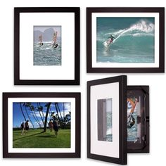 Great Way to collect Proffessional School and Sports Photos.  Show off your latest vacation or candid shots! Instantly Frame and store up to 50 8x10 or 5x7 prints in each one.