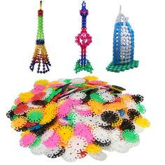400 개 새로운 도착 여러 가지 빛깔의 아이 눈송이 건물 퍼즐 블록 교육 크리스마스 장난감 벽돌 DIY 조립 클래식 장난감