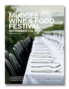 Mudgee Wine & Food Festival 2012 - program of events.