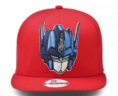 Cheap Transformers Snapbacks hats red (36767) Wholesale  325496100d77