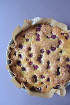 Gâteau au yaourt à la framboise Recette