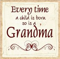 Grandma.With open arms and lots of love hugs and kisses for all the Angels that the alord brings to her arms.Grandmes love.Maria
