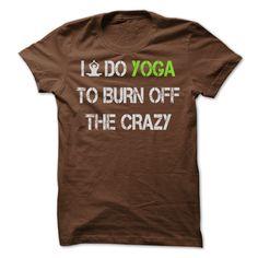 I do YOGA to burn off the crazy [Hot]