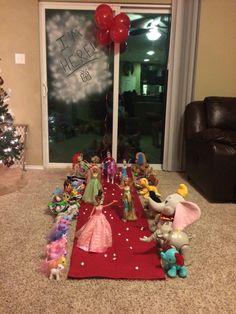 Elf on the shelf grand entrance