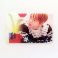 [Hot] SM Entertainment NCT U Fan Cafe Goods : NCT U Transparent Card 8