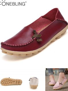 324c50cc12a37  Visit to Buy  Hot Sale Genuine Leather Women Shoes 2017 Fashion Lace up  Casual