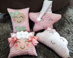 Diy Embroidery Designs, Quilting Designs, Rainbow Nursery Decor, Pillow Crafts, Fox Nursery, Camping Pillows, Cushion Cover Designs, Kids Stool, Flower Pillow