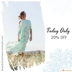 Today Only! 20% OFF this item.  Follow us on Pinterest to be the first to see our exciting Daily Deals. Today's Product: Sale - Caftans/Kaftans Hawaii Hottie 100% PURE SILK Kaftan Buy now: http://www.kahalashop.com/products/the-miami-kaftan?utm_source=Pinterest&utm_medium=Orangetwig_Marketing&utm_campaign=Hawaii%20Hottie%20SILK%20Kaftan%2020%25%20off #musthave #loveit #instacool #shop #shopping #onlineshopping #instashop #instagood #instafollow #photooftheday #picoftheday #love #OTstores…