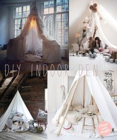 Trends With Benefits: DIY: Indoor Den