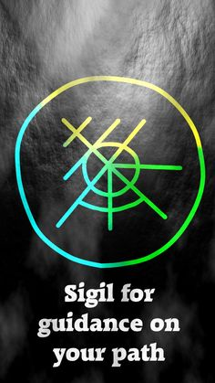 Sigil for guidance on your path