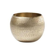 Hammered Gold Tealight Bowl