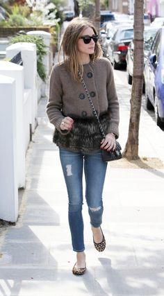 Olivia Palermo in Butterfly Twists Cleo