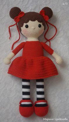 Good girls PDF crochet two doll pattern by MyCroWonders on Etsy - Salvabrani I'm in love with this crochet doll pattern! One of the best crochet dolls I've seen! How To Crochet an Amigurumi Rabbit - Crochet IdeasPufoasa Si Aromata , Cute Crochet, Crochet Crafts, Crochet Baby, Crochet Projects, Crochet Doll Pattern, Crochet Patterns Amigurumi, Amigurumi Doll, Knitted Dolls, Crochet Dolls