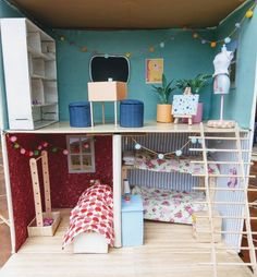 DIY Barbie dolls house, using cardboard and a glue gun — Cecily Paterson Barbie House Furniture, Doll Furniture, Dollhouse Furniture, Furniture Plans, Cardboard Furniture, Kids Furniture, Barbie Dolls Diy, Barbie Doll House, Barbie Dream House
