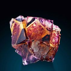 A love for minerals — Fluorite Locality: Okoruso Mine, Otjiwarongo. Cool Rocks, Beautiful Rocks, Minerals And Gemstones, Rocks And Minerals, Mineralogy, Mineral Stone, Rocks And Gems, Stones And Crystals, Gem Stones