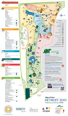 49 Best Zoo maps images
