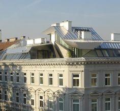 Wien kontroverse dachausbauten projekte meldungen - Lakonis architekten ...