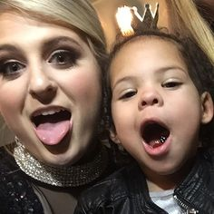 """THIS IS LITERALLY THE CUTEST THING IVE EVER SEEN #meghantrainor #megatronz #thatbasstour"""
