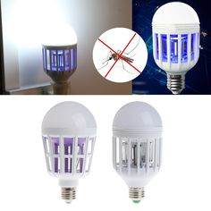 Ingenious 220v 9w 20w 2 In 1 E27 Led Bulb Electric Trap Mosquito Killer Lightelectronic Anti Insect Bug Night Lamps Mosquito Killer Lamp Night Lights