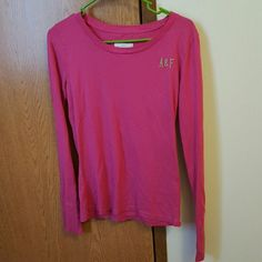 Abercrombie and Fitch long sleeve shirt Abercrombie and Fitch long sleeve shirt. Worn but excellent condition. Abercrombie & Fitch Tops Tees - Long Sleeve