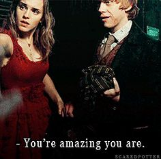 You're amazing, you are.