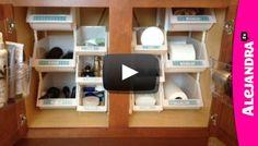 [VIDEO]: Bathroom Organization