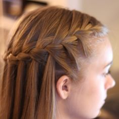 20 DIY Waterfall Braid Tutorials